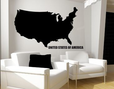 Produktfoto Wall Decal no.KP104 USA