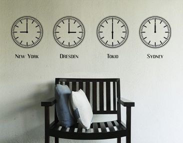 Product picture Wall Decal No.425 Own Words Tattoo Time...