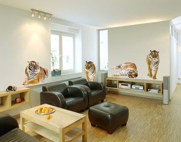 Product picture Wall Decal no.167 Tiger Set II