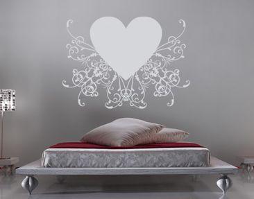 Produktfoto Wall Decal no.SF600 romantic heart 1