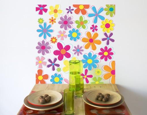 Produktfoto Wandtattoo No.172 Retro Blumen