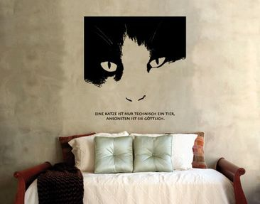 Product picture Wall Decal no.SF229 divine cat