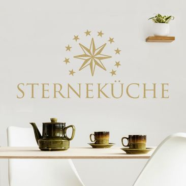 Product picture Wall Decal no.BR260 Sterneküche 1