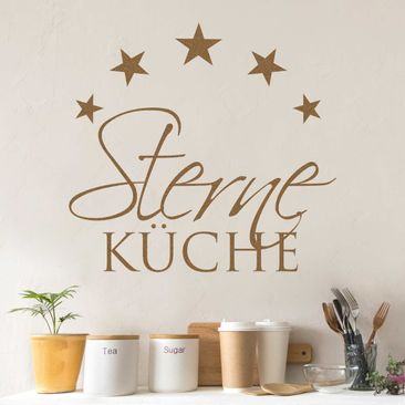 Product picture Wall Decal no.BR262 Sterneküche 3