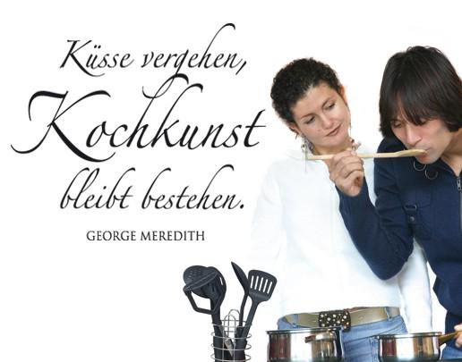 Produktfoto Wandtattoo Zitate - Wandzitate No.BR266 Kochkunst