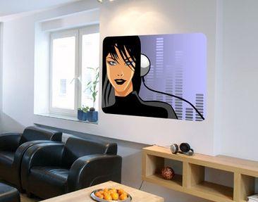 Produktfoto Wall Mural DJane Spicy