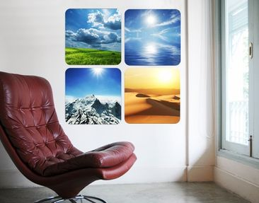 Produktfoto Wall Mural Elements Quattro