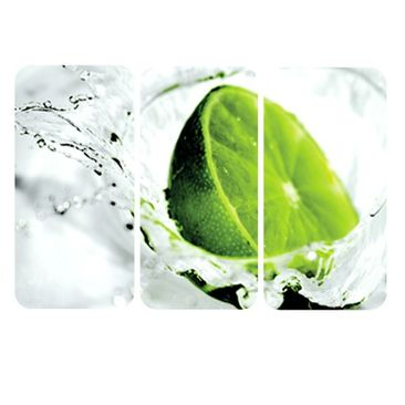 Product picture Wall Mural Splash Lime Triptych