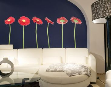 Product picture Wall Decal no.197 Gerbera Red