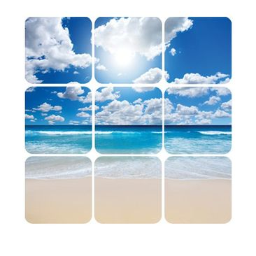 Product picture Wall Mural Touch of Paradise Square
