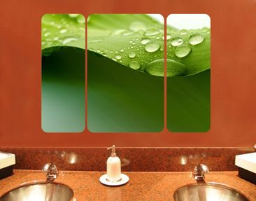 Product picture Wall Mural Drops Of Nature Triptych II