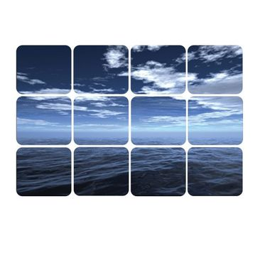 Product picture Wall Mural Dark Water Square