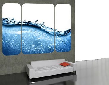 Product picture Wall Mural Beautiful Wave Triptych