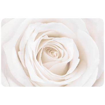 Product picture Wall Mural Pretty White Rose