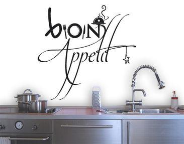 Produktfoto Wandtattoo Sprüche - Wandworte No.SF358 Bon Appetit