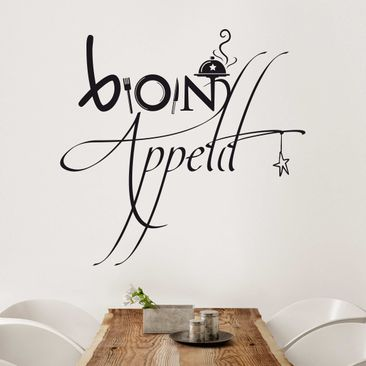 Product picture Wall Decal No.SF358 Bon Appetit