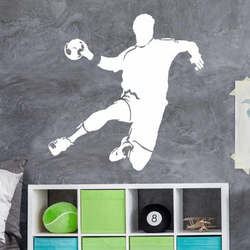 Product picture Wall Decal no.UL333 handball player 1