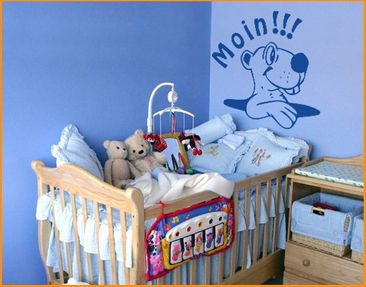 Product picture Wall Decal no.KP178 Moin!!!