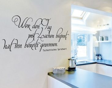Product picture Wall Decal no.UL335 Tagesbeginn