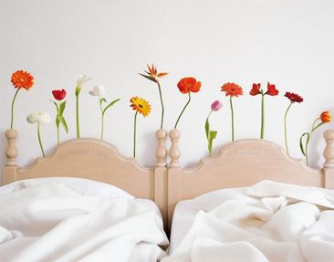 Produktfoto Wall Decal No.SB48 Colourful Flowermix I