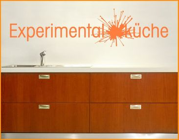 Product picture Wall Decal no.UL167 Experimentalküche