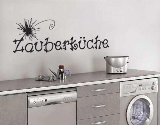 Produktfoto Wandtattoo Sprüche - Wandworte No.UL168 Zauberküche