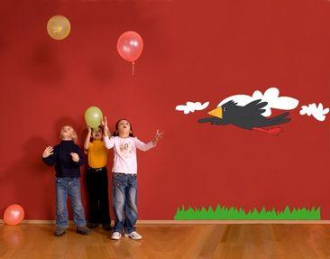 Produktfoto Wandtattoo Kinderzimmer Vögel No.UL338...