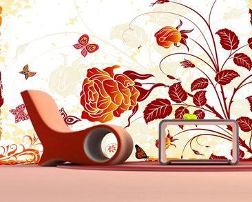 Immagine del prodotto Carta da parati adesiva - Red Rose