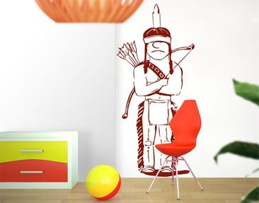 Produktfoto Wall Decal no.445 Indian Man