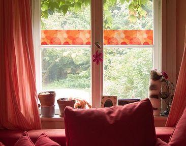 Produktfoto Fensterfolie - Sichtschutz Fenster Bordüre HavannaLounge - Fensterbilder