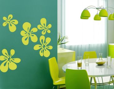 Produktfoto Wall Decal no.UL353 bubble flower