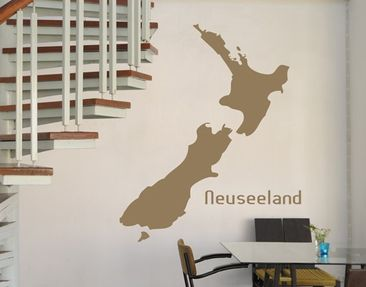 Produktfoto Wandtattoo No.TM77 Neuseeland