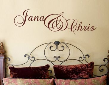 Product picture Wall Decal no.538 CustomText Pretty...