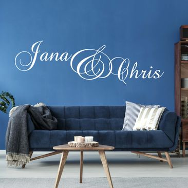 Produktfoto Wall Decal no.538 CustomText Pretty...