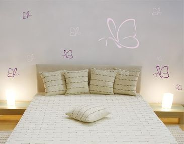 Produktfoto Wall Decal no.TM111 Butterflies II