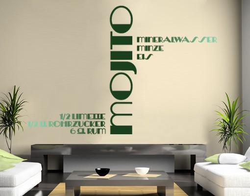 Produktfoto Wandtattoo No.JO4 Mojito