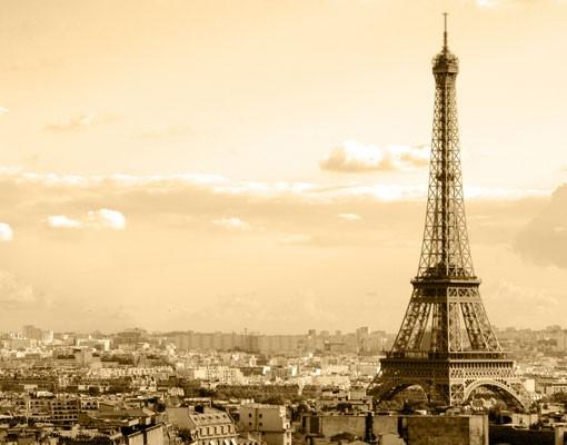 Produktfoto Fensterfolie - Sichtschutz Fenster I Love Paris - Fensterbilder