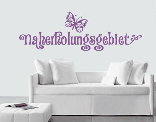 Produktfoto Wandtattoo Sprüche - Wandworte No.SF703 Naherholungsgebiet