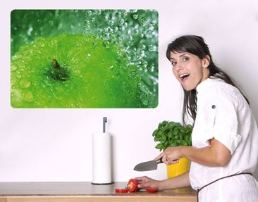 Product picture Wall Mural Green Apple