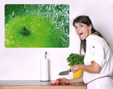 Produktfoto Selbstklebendes Wandbild Green Apple