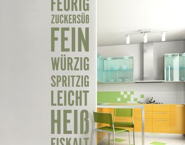 Produktfoto Wall Decal Wallpaper no.UL405 Kitchen...