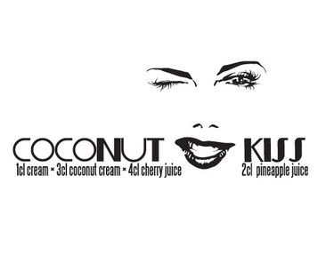 Product picture Wall Decal no.JO24 Coconut Kiss