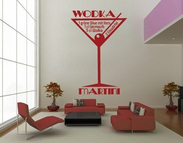 Product picture Wall Decal no.JO35 Wodka Martini
