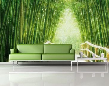 Produktfoto Photo Wall Mural Bamboo Way