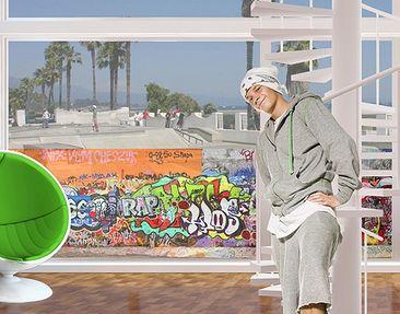 Produktfoto Window Mural Graffiti