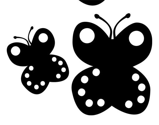 Produktfoto Wandtattoo Schmetterling No.UL425 Baby Schmetterling Set