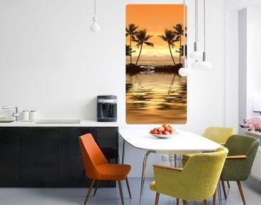 Produktfoto Wall Mural Caribbean Sunset I