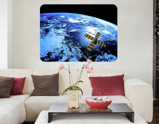 Produktfoto Selbstklebendes Wandbild Space Runner
