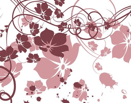 Produktfoto Selbstklebendes Wandbild Apricot Blossom Triptychon