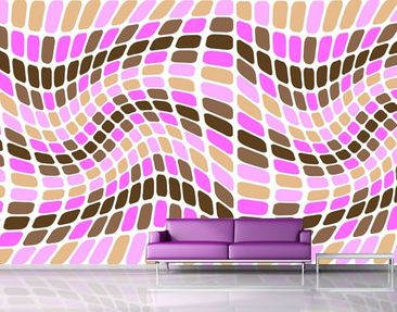 Produktfoto Photo Wall Mural Dancing Squares